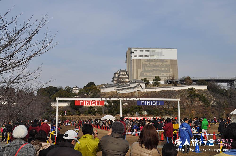 国宝姫路城の修復工事を間近で見るはずが…。「天空の白鷺」(兵庫)