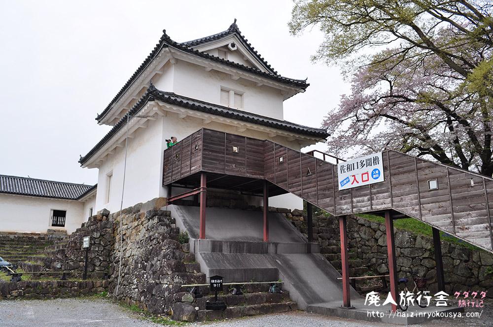 重要文化財・彦根城佐和口多聞櫓へ入ってみた。(滋賀)