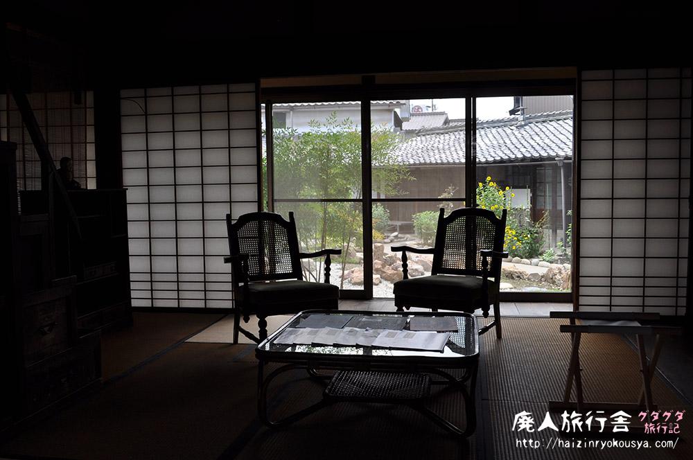 生々しい生活感が残る、古いお屋敷・旧堀部家住宅。(愛知)
