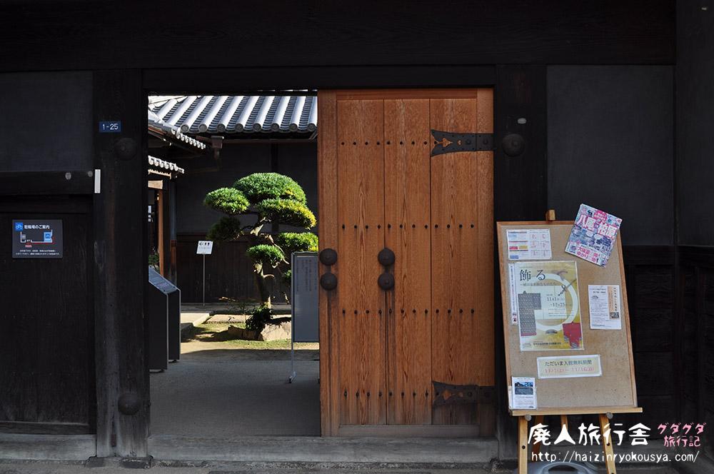 屋根裏部屋に住むお婆さんを想像した。「旧植田家住宅」(大阪)