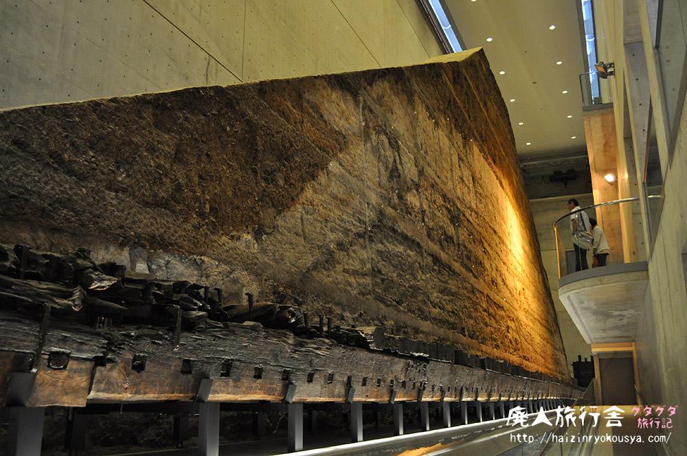 巨大な土壁に取水塔。驚きがイッパイの狭山池博物館!(大阪)