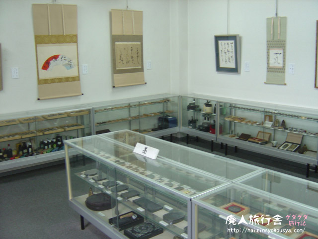にぎにぎにぎって握り墨作り体験。墨の資料館。(奈良)