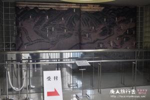 妙喜庵待庵のレプリカを展示室内に作った大山崎歴史資料館。(京都)