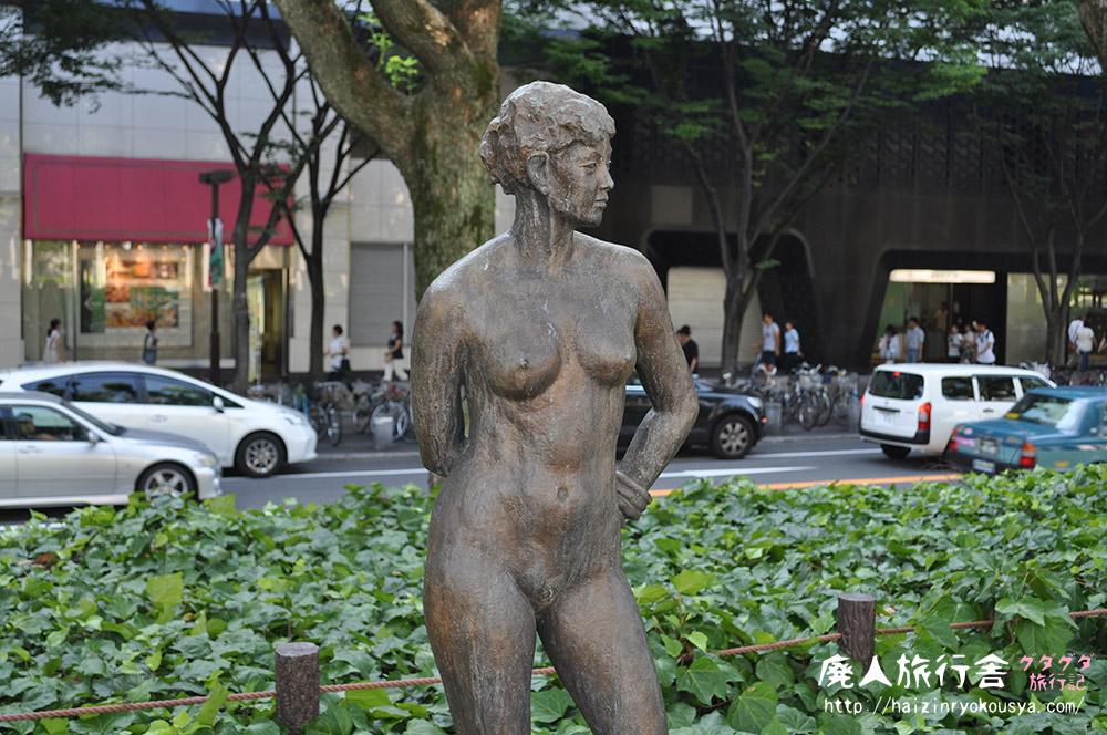 裸婦像探して久屋大通公園を探検!大須商店街~久屋大通公園(愛知)