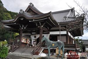 橘寺の正面は東側です。「秋の明日香村旅行」その5(奈良)