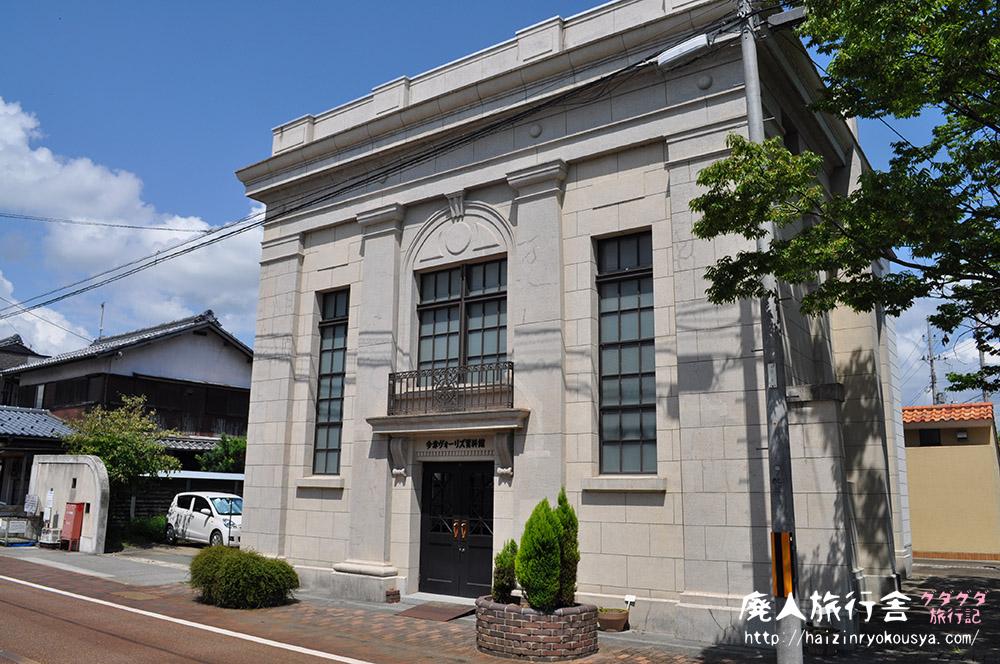 登録有形文化財の中のカフェ。ヴォーリズ通りと今津ヴォーリズ資料館(滋賀)