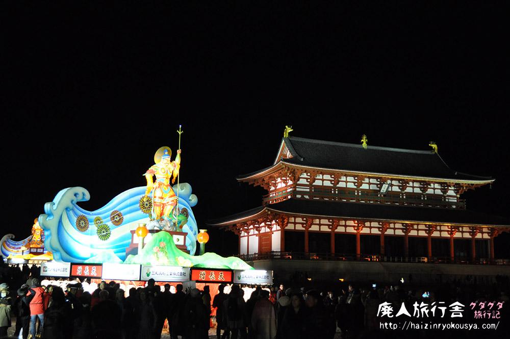 偽ねぶた、なんて呼ばないで!不思議なノリのヘンテコ祭りだった「大立山まつり」(奈良)