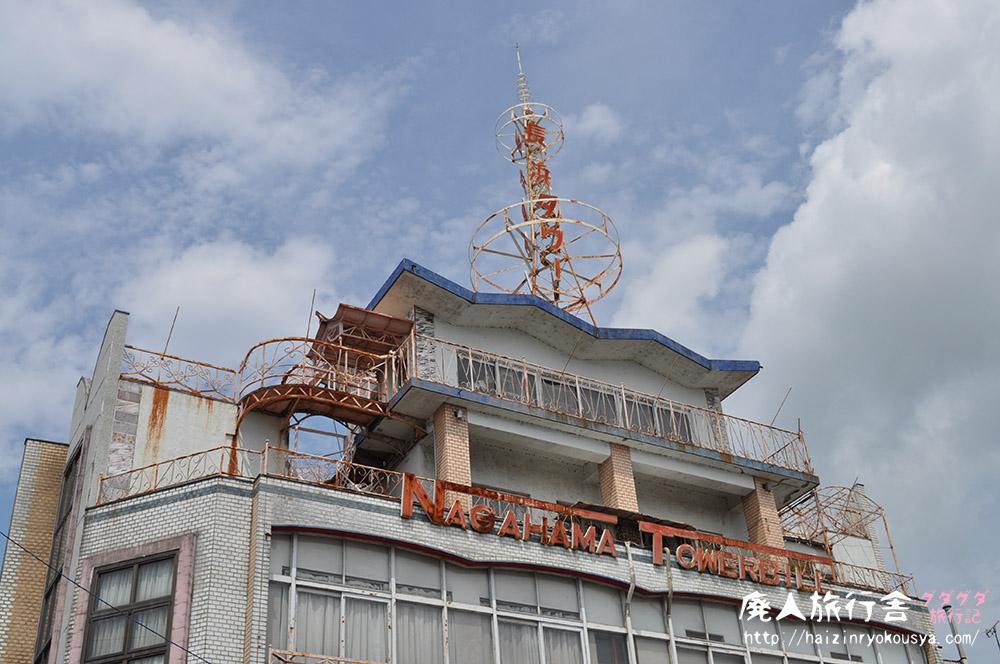 レトロでB級な雰囲気、長浜タワー! 長浜旅行その6(滋賀)