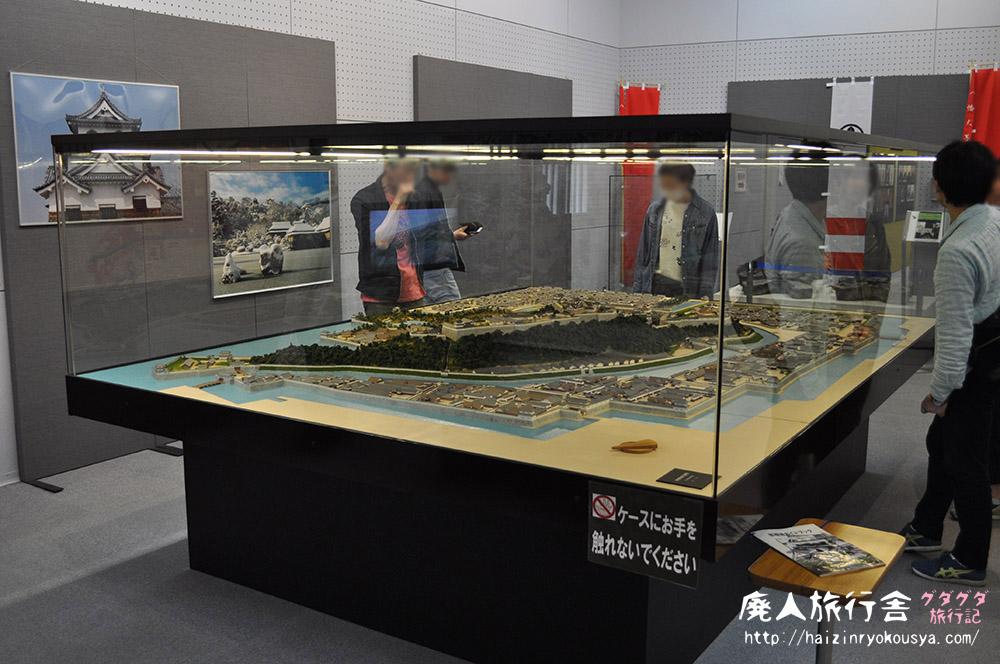 巨大彦根城ジオラマとレゴで出来た彦根城が素晴らしい開国記念館(滋賀)