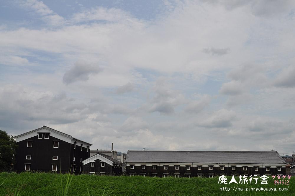 時代劇でお馴染みのあの風景を見に行った。伏見・松本酒造(京都)