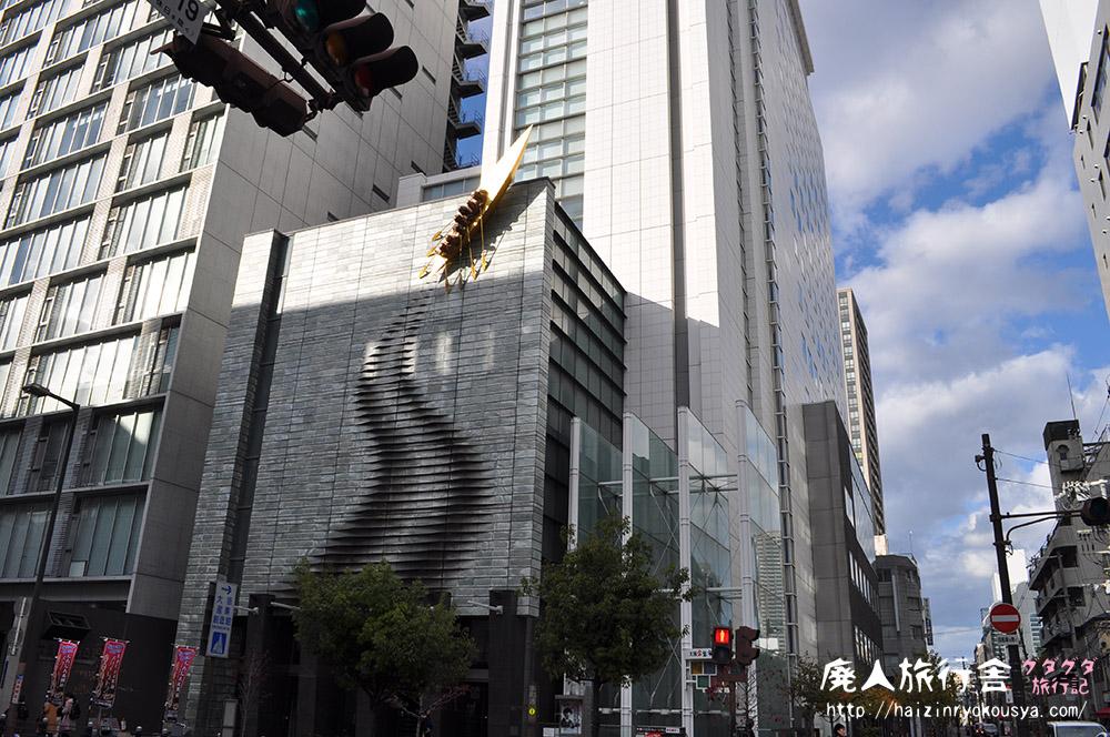 壁面を漕いで進む金色のボート!「大阪企業家ミュージアム」(大阪)