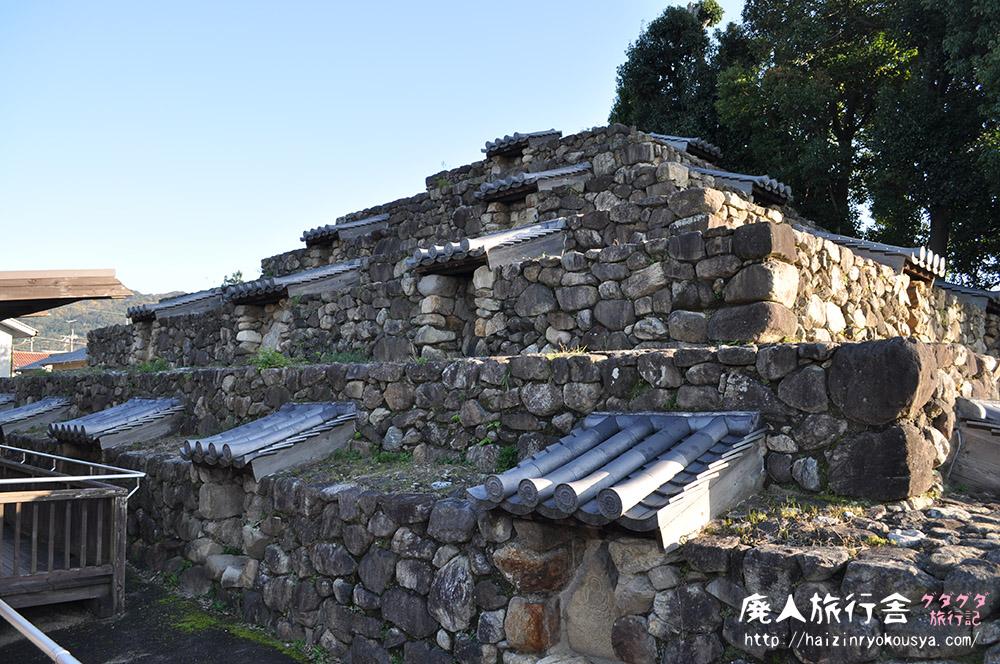 奈良のピラミッド「頭塔」は要塞の様だった。(奈良)