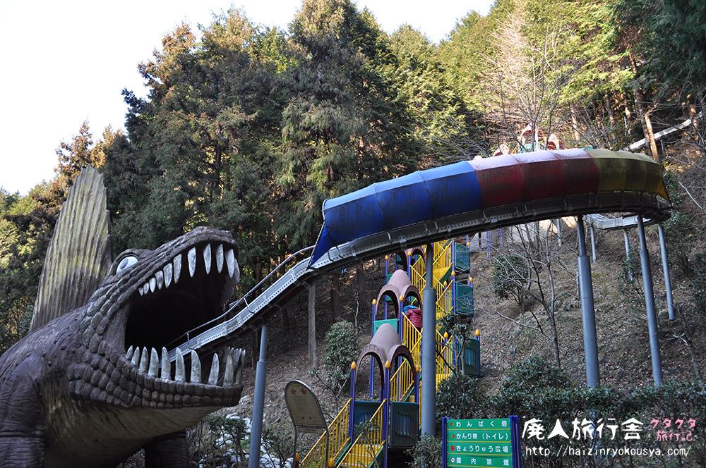 食べられるッ!滑り台の先には恐竜の大きな口がッ!「わんぱく王国」(大阪)