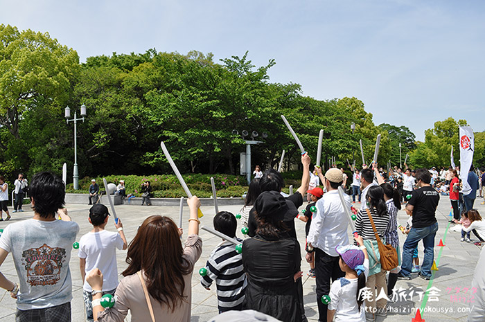 茶臼山で開催された第一回「天王寺真田幸村博」!(大阪)