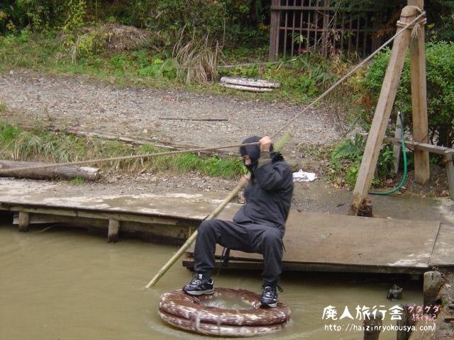 パラダイス感たっぷりの「甲賀の里忍術村」で水蜘蛛の術を体験だ!(滋賀)